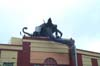 A Nazgul atop one of the theaters